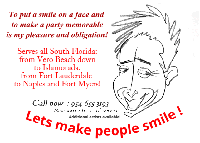 florida caricatures