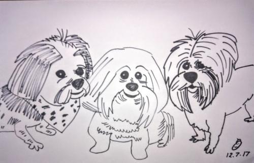Dog-Caricatures 6